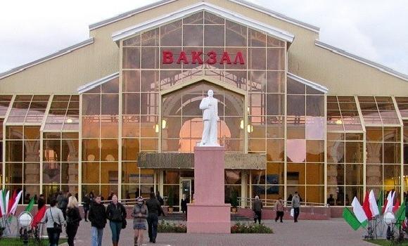 ЖД Вокзал ЖД вокзал Жлобин